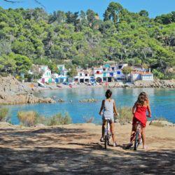 Bicicletas en Palamós