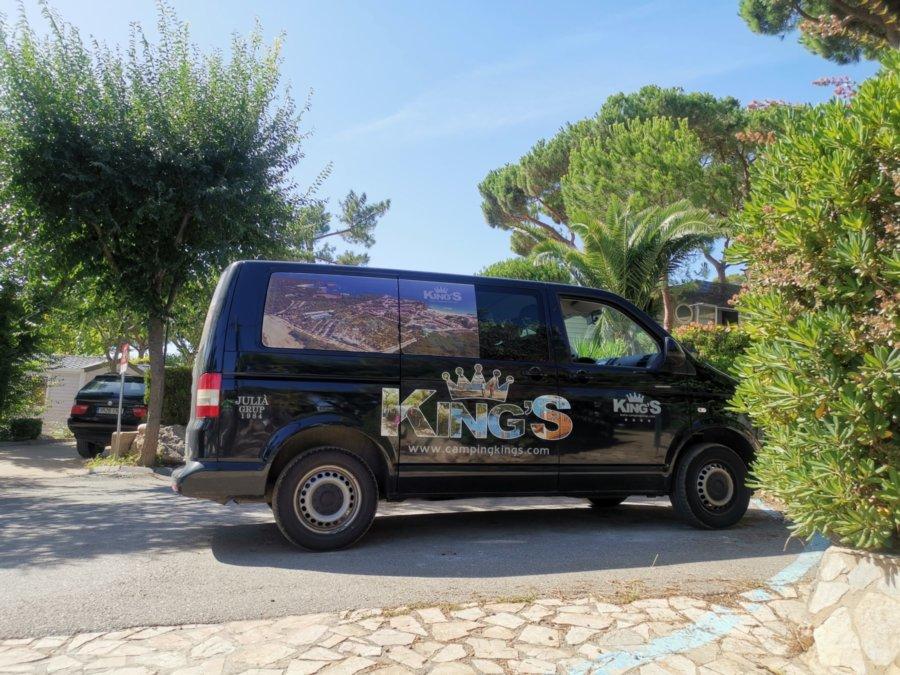 Parcela campimg para furgoneta en Costa Brava