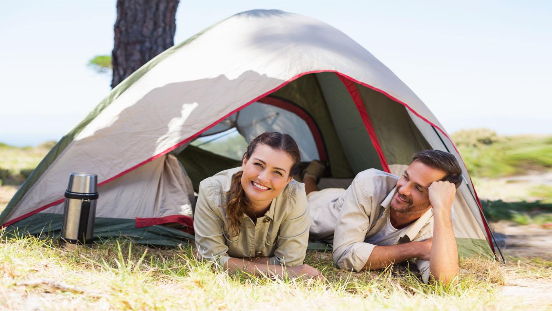 Parcela mini en camping en Costa Brava
