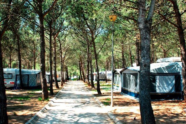 Parcelas camping para caravanas