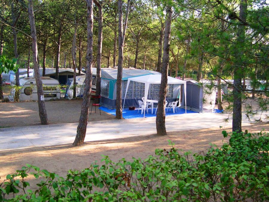 Parcela camping familiar