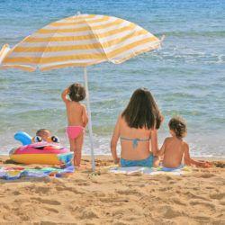 Camping con playa en Costa Brava