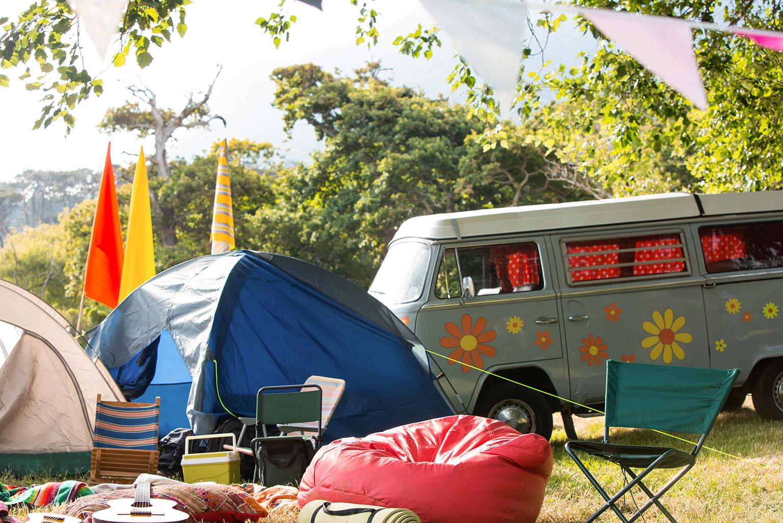 Parcelas para furgonetas en camping
